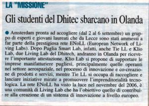Nuovo Quotidiano Di Puglia - 28 agosto 2014