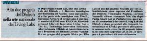 Nuovo Quotidiano di Puglia 9 settembre 2014