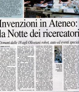 Nuovo Quotidiano di Puglia, 25 settembre